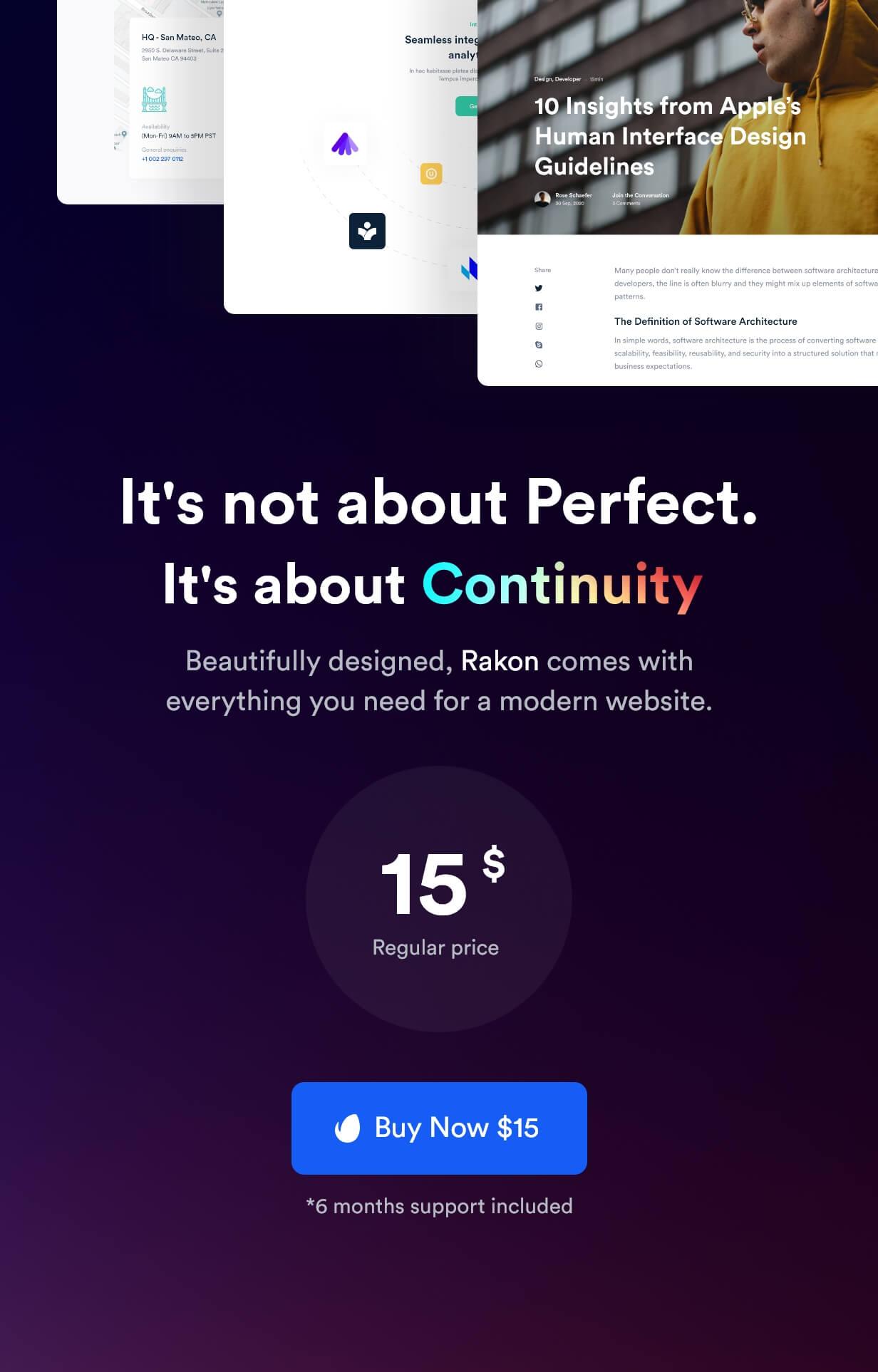 Rakon - Creative Multi-Purpose Landing Page HTML5 Template (RTL Supported) - 13